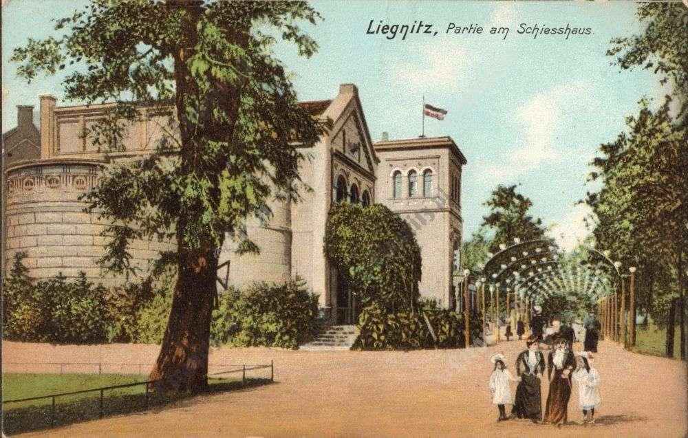 Legnica. Karta pocztowa z 1909 r. ¬ród³o: liegnitz.pl